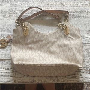 Michael Kors over shoulder hand bag